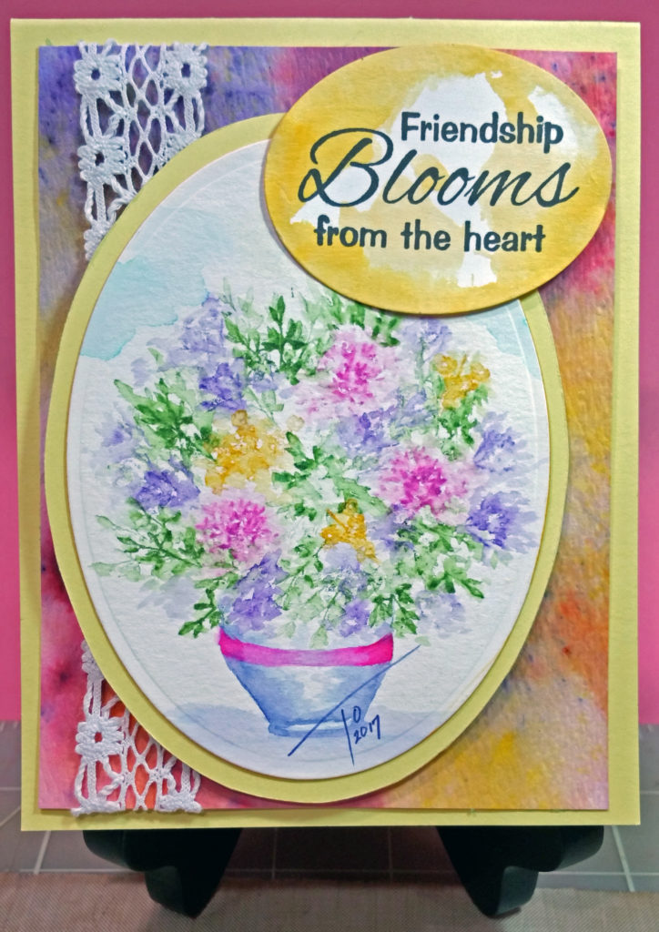 Watercolor Weekends Friends Blooms www.tobinartstudio.com