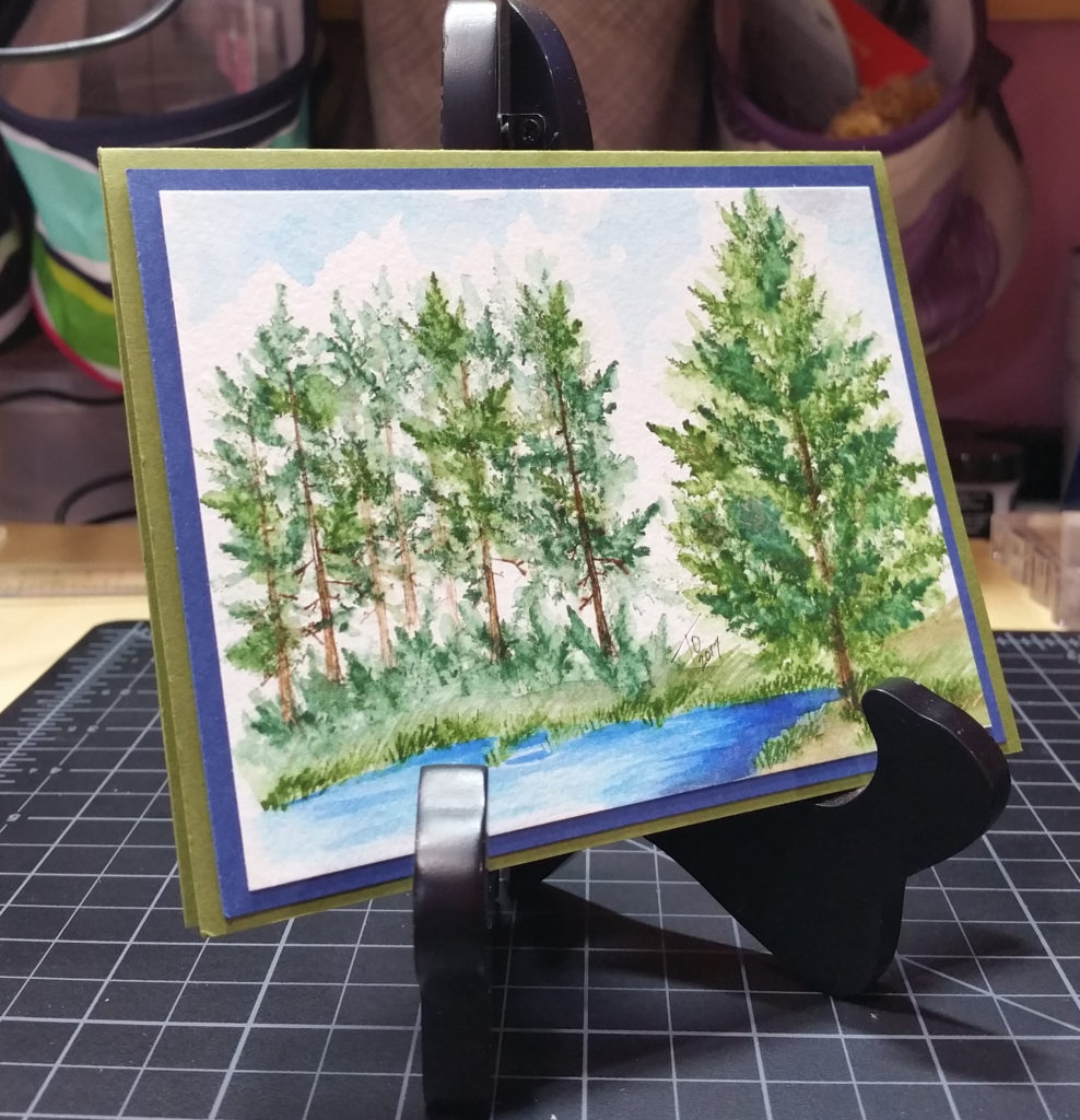 Art Impressions Foliage Scene