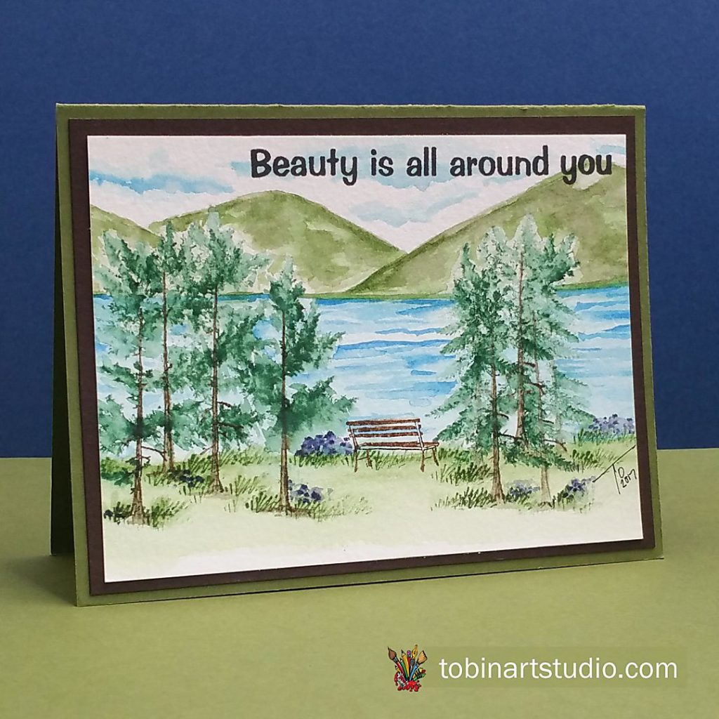 Watercolor Weekend:  Beauty is all around you
