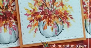 Watercolor Weekend | Thankful Pumpkin Trio