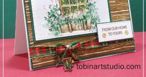 Watercolor Tutorial | Christmas Window